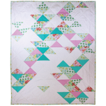 Archaeology Modern Quilt - Pattern Available through Etsy