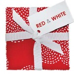 Red & White Charm Pack - 42 PCS