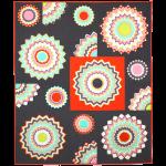 Chevron Kaleidoscope Quilt by Emily Herrick