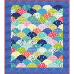 Clambake Quilt  by Emily Herrick featuring Into the Deep