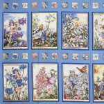 PERIWINKLE FAIRIES PANEL