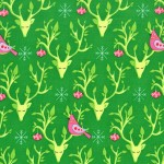 PRINTED COTTON COUTURE COLOR: EVERGREEN