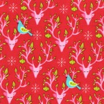 PRINTED COTTON COUTURE  COLOR: SANTA