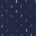 ANCHORS AWAY ON FLANNEL