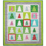 Festive Forest Quilt by Patty Sloniger