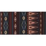 SPEARHEAD STRIPE on cotton flannel