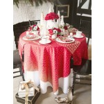 Holiday Glitz Table Setting