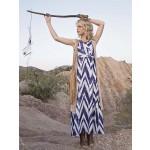 Indigo - Dress with Belt- uses Simplicity Patt# MP300
