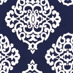 Printed Cotton Couture COLOR: NAVY