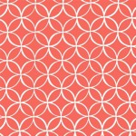 Printed Cotton Couture  COLOR: CORAL