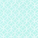Printed Cotton Couture COLOR: SEAFOAM