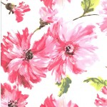 PRINTED COTTON COUTURE   COLOR: BLOSSOM
