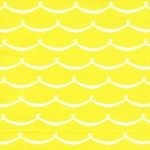 PRINTED COTTON COUTURE  COLOR: CITRON