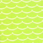 PRINTED COTTON COUTURE   COLOR: FERN