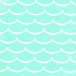 PRINTED COTTON COUTURE  COLOR: WAVE