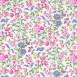 PRINTED COTTON COUTURE  COLOR: ORCHID