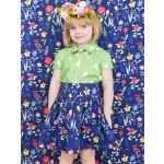 Sommer Girls -Skirt and Shirt