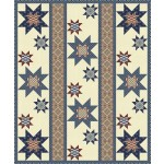 """Star Spangled by Heidi Pridemore - 69""""x83"""" featuring Suzette Collection"""