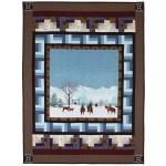 """Winter on the Range by Marinda Stewart / 41""""x55"""""""
