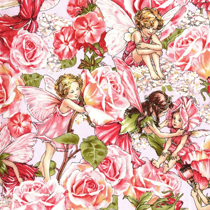Dc4280 Rose Sweet Flower Fairies Cicely Mary Barker