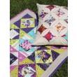Emma's Garden Quilt and Pillow