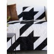 Houndstooth Black & White Quilt