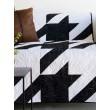 Houndstooth Black & White Quilt