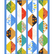 Origami Oasis Quilt by Heidi Pridemore