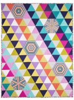 """Bias Tile Quilt by Marinda Stewart / 43""""X57"""" - Instructions coming soon"""