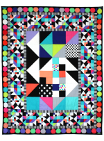 Brite and Busy Quilt by Marinda Stewart
