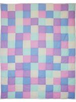 Clipdot Crib Quilt by Marinda Stewart