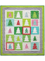 Festive Forest Quilt by Patty Sloniger - Instructions Coming Soon