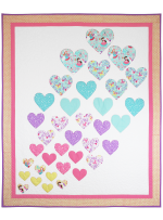 Hearts a Flutter Quilt by Heidi Pridemore