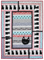 Here Kitty Kitty Quilt by Marinda Stewart
