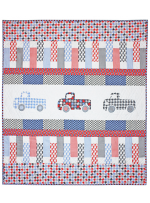 Houndstooth Trucks Quilt