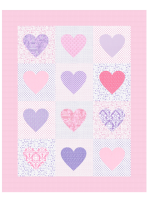 I Heart Paris Quilt - Instructions Coming Soon