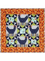 """Just us Chickens Quilt by Swirly Girl Design /32x32"""""""