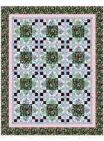 """Midday at the Oasis Quilt by Heidi Pridemore / 68""""x85.5"""" - Instructions Coming Soon"""