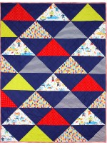 Monkey Moves QUILT by Ellen Maxwell