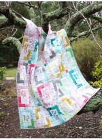 "Nature Walk A to Z Quilt by Tamara Kate / 50""x 59"""