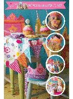Princess Tea Party  Quilt by Marinda Stewart