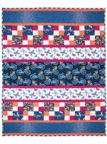 "Saturday Morning Quilt by Marinda Stewart  / 40x54"""