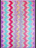 Unicorn Frolic Quilt by Marinda Stewart