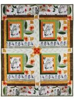 """Wise Owl Collage by Marinda Stewart / 41""""x53"""""""