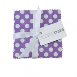 BLOOM MODERN BASICS CHARM PACK - 45 PCS