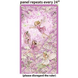 PETAL FAIRIES PANEL - NOT FOR PURCHASE BY MANUFACTURERS
