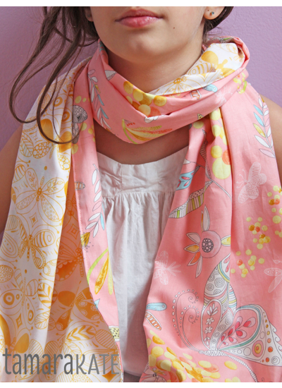 tamara kate flight pattern scarf