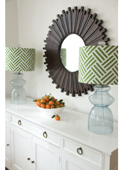 Trenna Travis Bekko Inspiration - Lamp shades