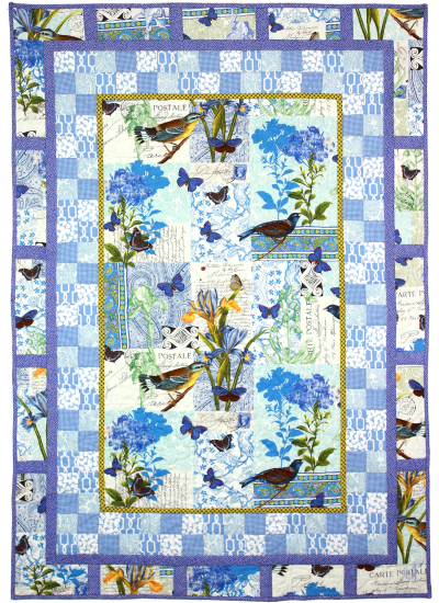 Bleu Paris Quilt