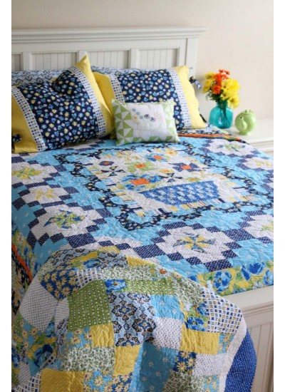 Clubhouse Inspiration - vibrant bed photo